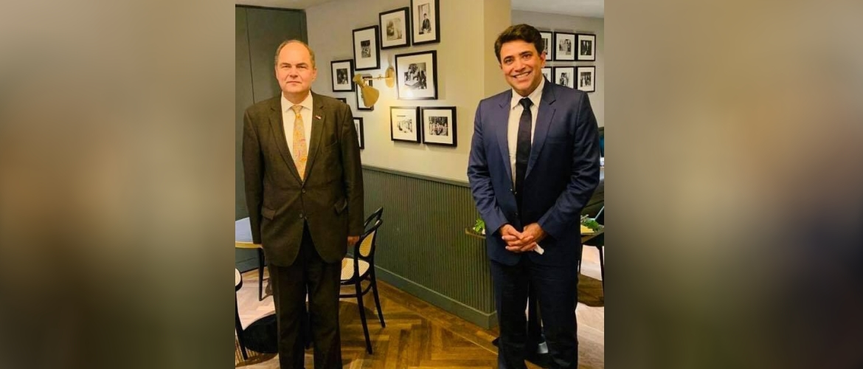Consul General with Hon. Christian Schmidt,  former federal minister & member of Bundestag.