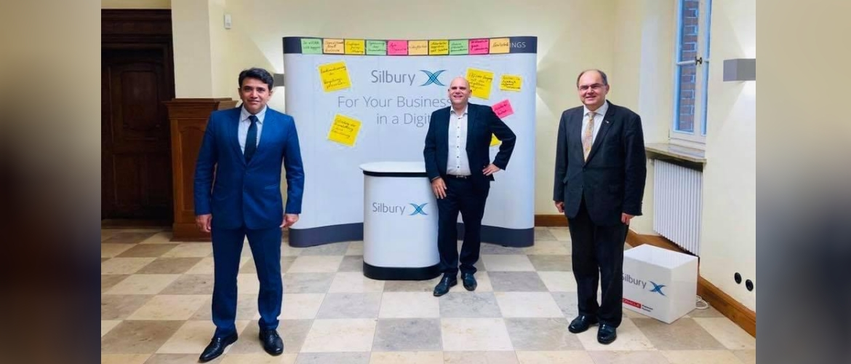 Consul General with CEO Markus Neubauer of Silbury IT