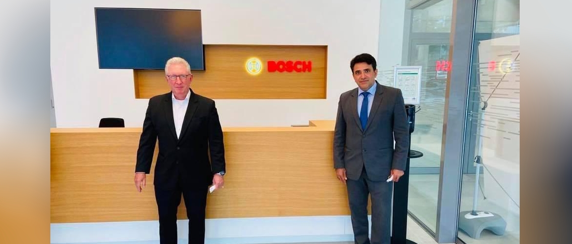 Consul General with Mr. Christoph Kirsh, Executive Vice President Bosch Global