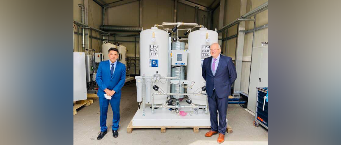 Consul General at Inmatec Gase Technologie GmbH & Co.KG factory