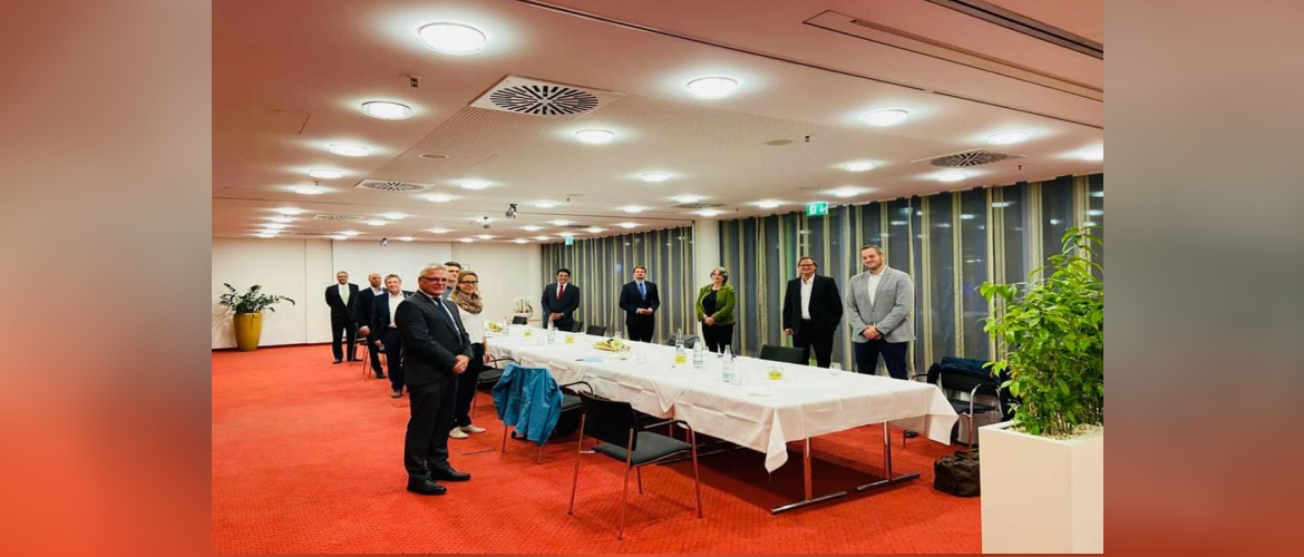 Consul General with owners/CEOs of Mittelstand companies in Esslingen
