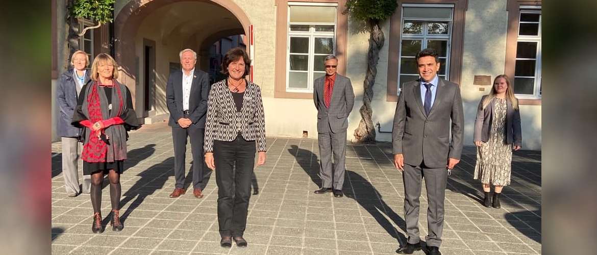 Consul General with Lord Mayor of Baden-Baden Ms. Margret Mergen